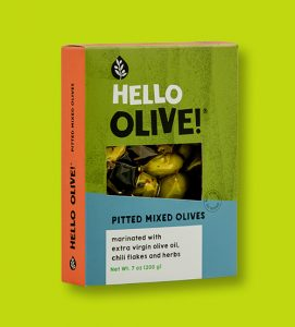 Pitted Mixed Olives