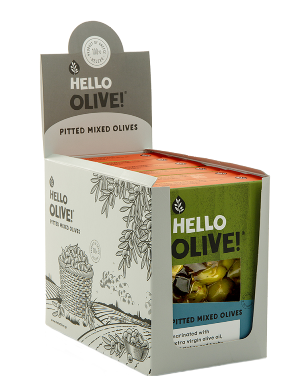 Display Box - Pitted Mixed Olives