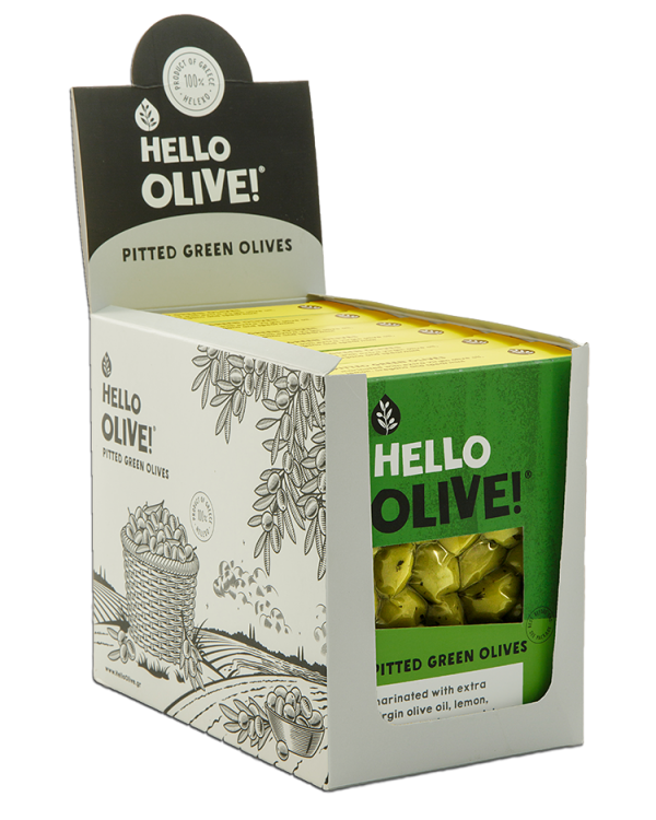 Display Box - Pitted Green Olives